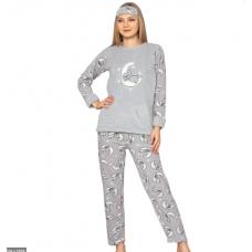 Женская пижама Welsoft Glisa 1035 (серая)