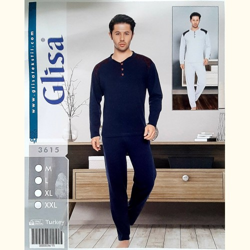Мужская пижама, трикотажный костюм Glisa (3615)