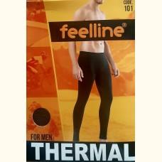 Термобелье, мужские лосины (рейтузы)  Feelline (черные) 101