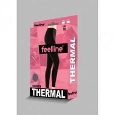 Термобелье женские лосины Feelline (черные) 102